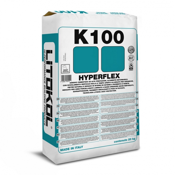 K100 hyperflex Litokol All Tile Solutions